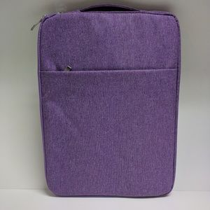 Handbags - New Purple fabric laptop sleeve 13 x 10 bag travel